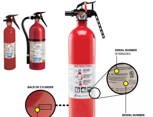 170,000 Kidde fire extinguisher recall in the UK following fatal car fire