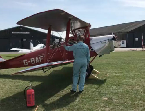 P50 takes to the sky!